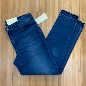 New Michael Kors Izzy Skinny Crop Jeans Size 10